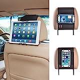Universal Smartphone & Tablet PC Kfz Halterung Kopfstütze Halterung Auto für Apple iPhone 6 und 6 Plus / iPad Samsung Galaxy Samsung Galaxy Note / Nexus 4 / 5 / 7 / 10 / HTC Desire / HTC One und viele mehr - von TFY