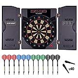 WIN.MAX Elektronische Dartscheibe elektronisches Turnierscheibe mit 27 Spielen und über 159 Varianten