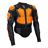 Fox Herren Titan Sport Motocross-Jacke, Black/Orange, L