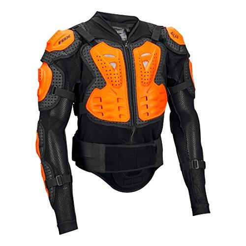 Fox Herren Titan Sport Motocross-Jacke, Black/Orange, L