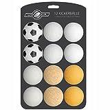 12x Stück Speedball Kickerbälle für Tischfussball Tischkicker Kicker-Ball Set Auswahl verschiedene Sorten (Kork, PE, PU, ABS) 35mm