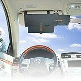 WANPOOL Auto Visier Anti-Blend Sonnenblenden Verlängerung für Den Fahrer und Beifahrer auf Den Vorderen Sitzen