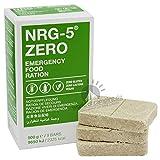 Notverpflegung NRG-5 ZERO Glutenfrei Survival 500g Outdoor Notration Notvorsorge | 9 Riegel Survivalnahrung Expeditions Grundausstattung wie EPA