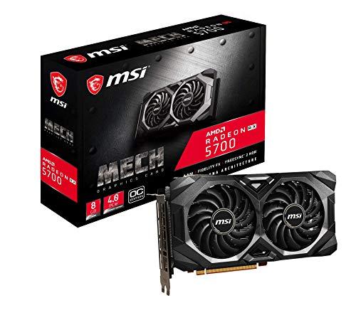 MSI Radeon RX 5700 MECH OC 256bit Enthusiast Grafikkarte 8GB GDDR5 HDMI DP PCI Express 4.0