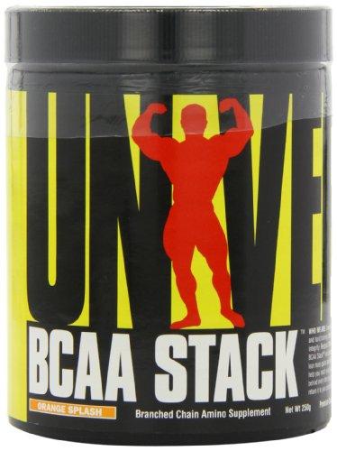 Universal Nutrition BCAA Stack Verzweigtkettige Aminosäure 250g (Orange)