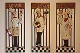 Dekorative Wandbilder mit 3 Motiven (3er Set)