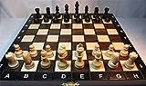 ChessEbook Schachspiel aus Holz 27 x 27 cm