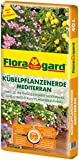 Floragard Kübelpflanzenerde mediterran 40 L - Spezialerde für große Kübel, Zitruspflanzen, Oleander, Oliven - auch für Dachgärten