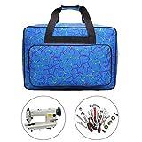 Nähmaschinentasche, große Kapazität, Reisetasche, Nähmaschinen-Aufbewahrungstaschen, Näh-Organizer, Multifunktions-Nähwerkzeug, Handtaschen, Nähmaschinen-Tragetaschen, Handtasche