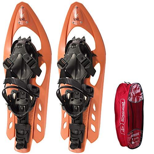Inook Schneeschuhe Allround VXL mit Steighilfe und Ratschenbindung, Schuhgröße EU 34-43