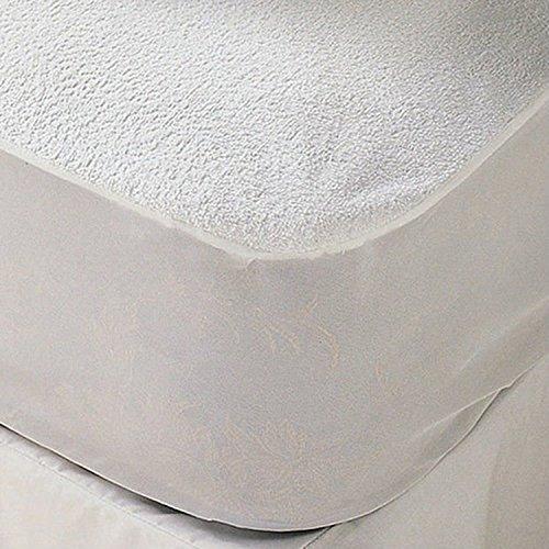 sinnlein Wasserundurchlässige Matratzenauflage Matratzenschoner in 11 Größen Matratzenschoner mit 100% Baumwolle und Rundumgummiband (90x200cm)