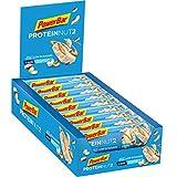 Powerbar Protein Riegel ProteinNut2 Eiweiß-Riegel (Kohlenhydratreduziert, kaum Zucker) White Chocolate Coconut, 18 x 45g
