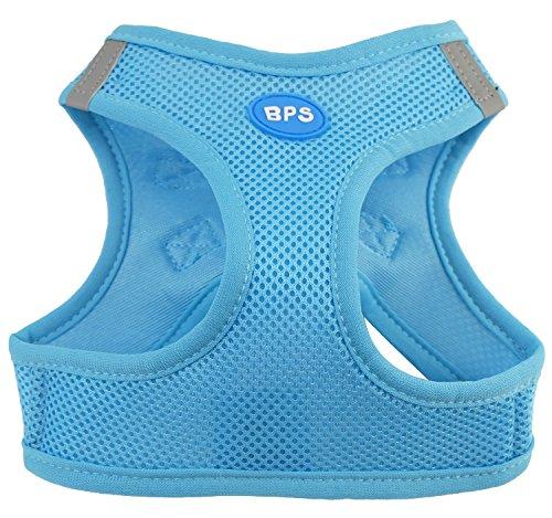 BPS Hundegeschirr für Hunde, Haustiere, für kleine, mittelgroße und große Hunde, blau, Small