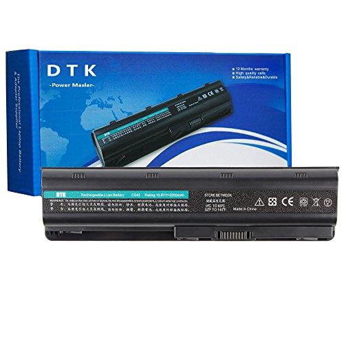 Dtk Laptop-Akku für HP G32/G42/G62/G72/G4/G6/G6T/G7, Compaq Presario CQ32/CQ42/CQ43/CQ430/CQ56/CQ62/CQ72, HP Pavilion DM4 MU06593553–001593554–001/MU09Hstnn-LB0W 636631–001593550–001