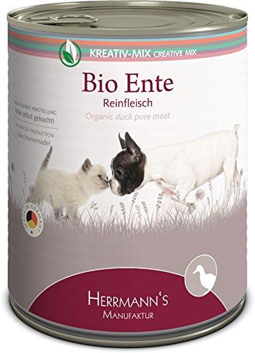 Herrmanns Bio Ente 100 Prozent, 6er Pack (6 x 800 g)