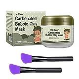 HailiCare 100g Carbonated Bubble Clay Maske Gesichtsmaske Deep Cleansing Nachfüllen und Feuchtigkeitsspendende Maske für Gesichtsbehandlung Entgiftung