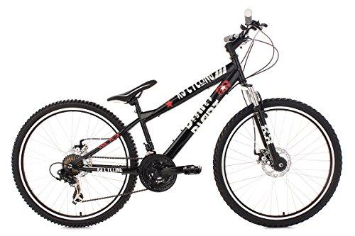 KS Cycling Fahrrad Mountainbike Dirt Dirrt, Schwarz, 26, 113B