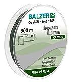 Balzer Iron Line 4-fach geflochtene Angelschnur - verschiedene Farben - Diverse Schnurstärken (Grün, 0,16mm)