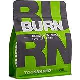BURN - Fatburner mit L-Carnitin, Himbeer Ketone, Grüner Tee & Co (hochdosiert). Für Athleten zur Unterstützung der Fettverbrennung (Diät) - 120 Kapseln von TOOSHAPED