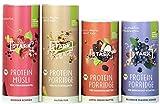 4x STARK Protein Porridge & Müsli Probierpaket | ohne Zuckerzusatz & Bio | bis 31% Protein