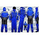 Moderei Auswahl an Schneeanzug | Schneeoverall Skianzug | Skioverall Snowboard Unisex | Jungen | Mädchen | Herren | Damen Schneeanzug (Blau170)