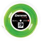 Gamma Tennissaite Moto Lime 17 (1.24 mm) 200 m Rolle,GZMOR