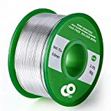 Lötdraht 0,6 mm Zinn Blei Kolophonium Kern Lötdraht für Elektrisches Löten und DIY (50g)