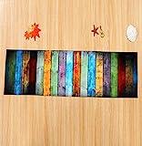 Tomatoa Designer Teppich Moderner Teppich Wohnzimmer Teppich Wohnzimmer Bunt Trendig Meliert Multicolour Schmutzfangmatte Designerteppich Kurzflor Teppich Kinderteppich (60 * 180CM)