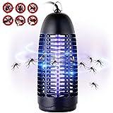 Greatever Elektronischer Insektenvernichter Insektenabwehr Insektenfalle Insektenschutz Fliegenfalle Fliegenfänger Mücke Falle - 100% Zufriedenheitsgarantie