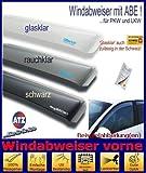 ClimAir CLS0033796D 3796D Windabweiser Profi Vorne, Schwarz