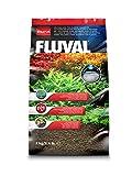 Fluval Stratum vulkanischer Bodengrund für bepflanzte oder Garnelen-Aquarien 2kg
