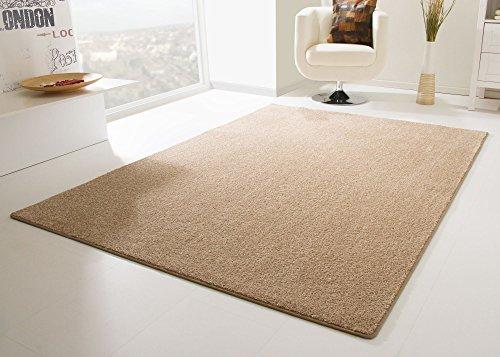 Designer Teppich Modern Cambridge in Sand, Größe: 160x230 cm