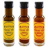 Mexican Tears - 3er Pack, scharfe Sauce aus Habaneros und Chipotle [3x100ml Chilisauce]