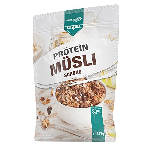 Best Body Nutrition Fit4Day Protein Müsli Schoko, 375 g