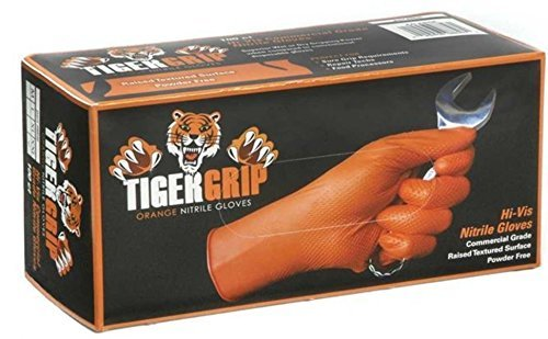 Kunzer Nitril Einweghandschuh Größe (Handschuhe): M EN 374 , EN 455 TIGER GRIP M 100St.