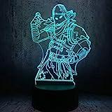 Led-Lampe 3D-Nachtlichter, Die Am Besten Für Teenager Als Geburtstag Oder Als Erste Schreibtischdekoration Für Besprechungstische Ausgewählt Wurde