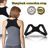 Xpassion Haltungskorrektur Haltungstrainer Geradehalter Posture Corrector Rückenstütze Schultergurt gegen Nacken -und Schulterschmerzen
