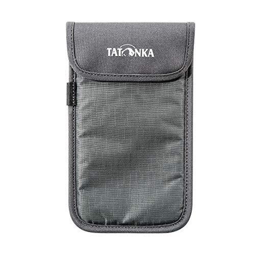 Tatonka Smartphone Case XXL Tasche, Titan Grey, 11 x 18,5 x 1 cm