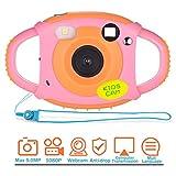 Kinderkamera Kamera Kinder 1080P 5 Megapixel Kamera für Kinder 1,77 Zoll Farbdisplay Digitalkamera Kinder mit Weicher Materieller Schale