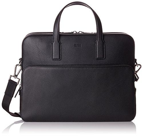 BOSS Herren Crosstown_s Doc Case Laptop Tasche, 8,5 x 30 x 38 cm, Schwarz (Black)