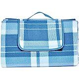 AmazonBasics - Picknickdecke mit wasserdichter Unterseite, 200 x 200 cm