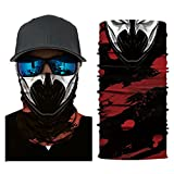 MMLC Fishing Company Face Shield Sturmhaube *viele verschiedene Designs* Multiunktionstuch Maske Fishing Totenkopf Schal Skull Bandana Gesichtsmaske Halstuch Ski Motorrad Paintball Halloween Maske (F)