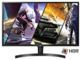 LG 32UK550 Monitor 32' 4K Ultra HD HDR, 3840x2160, 4ms, integrierter Lautsprecher 10 W, Radeon FreeSync, Multitasking, Display Port, HDMI, Höhenverstellbar