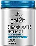 Schwarzkopf got2b strand matte Matt-Paste surfer look, 1er Pack (1 x 100 ml)