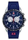 Swiss Alpine Military by Grovana Herrenuhr Chrono 10 ATM Blue 7082.9835SAM