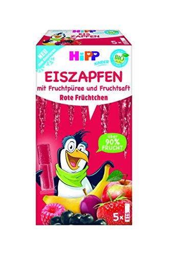 Hipp Kinder Dessert, Eis-Zapfen Rote Früchtchen, 5er Pack (5 x 150 g)