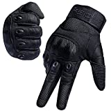 [Sport Handschuhe] FREETOO Motorrad Handschuhe Herren Vollfinger Army Gloves Ideal für Airsoft, Militär,Paintball,Airsoft, lebenslange Garantie