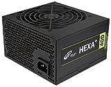 FSP Hexa+ 400, PC Netzteil 400 Watt, 80 plus, Kompatibel mit ATX 12V V2.4 & EPS 12V V2.92, 3 Jahre Hersteller Garantie, 5 Millionen US-Dollar Produkthaftungsversicherung, schwarz