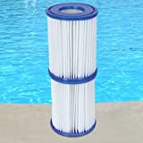 6 Stück Bestway Filter Kartuschen für Pool Swimmingpool Pumpen Intex Bestway / Gr. 2