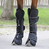 Bucas Freedom Travel Boots - Black/White / Transportgamaschen 4er-Set
